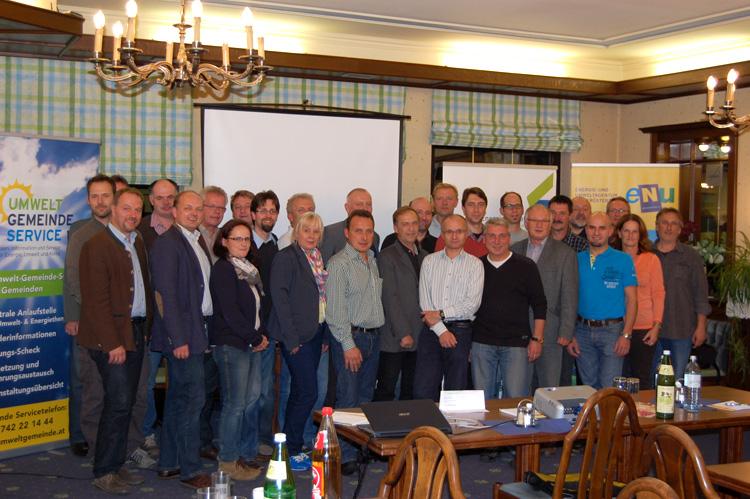 Infoabend Energiebeauftragte, 09.10.2013, Bad Fischau