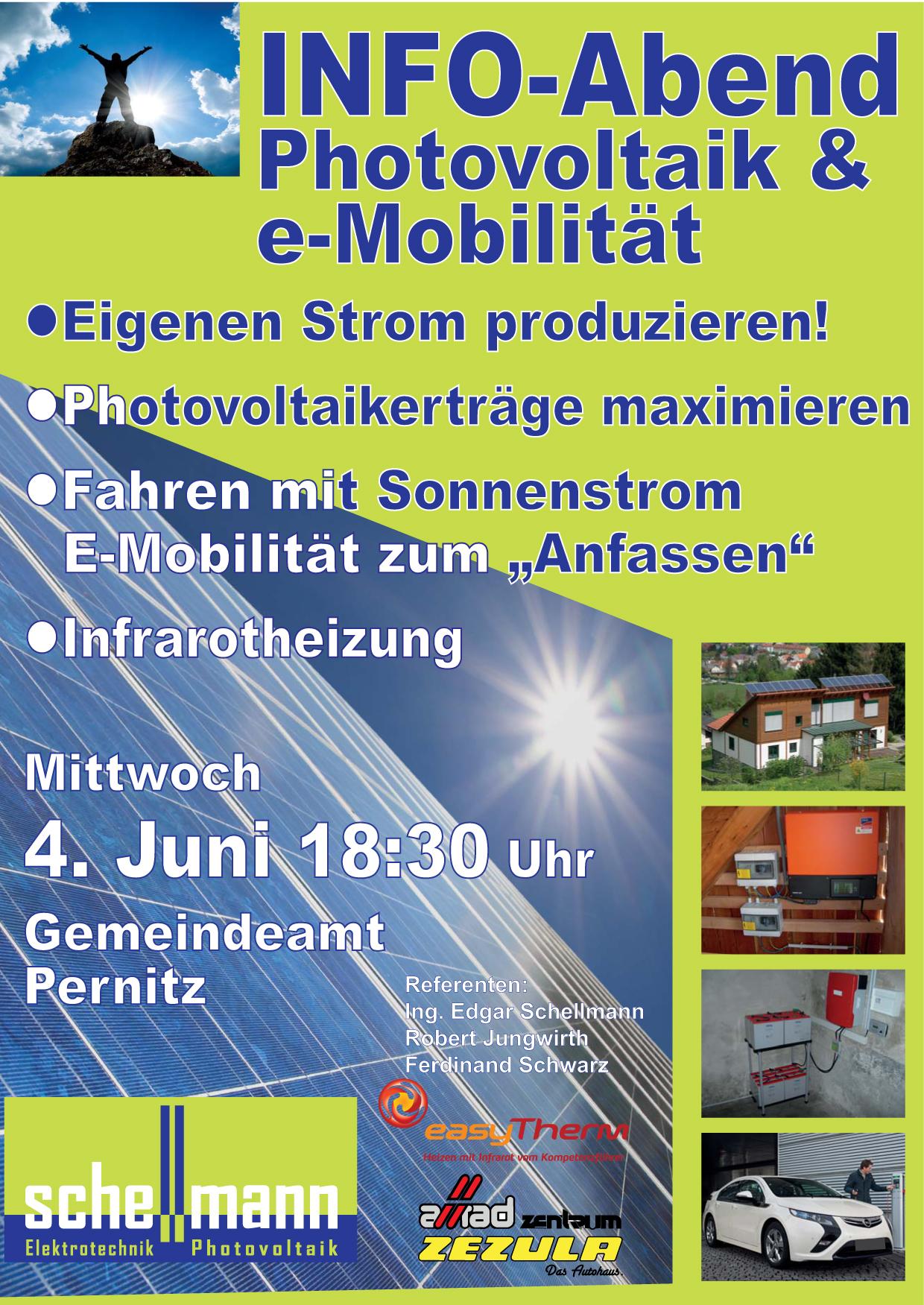Plakat Infoaben