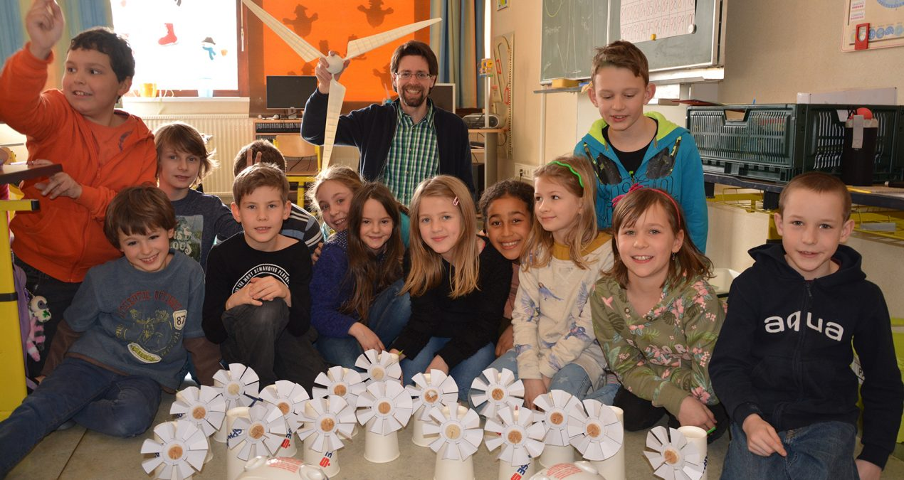 Klimaschule: Winzendorfer Windpark