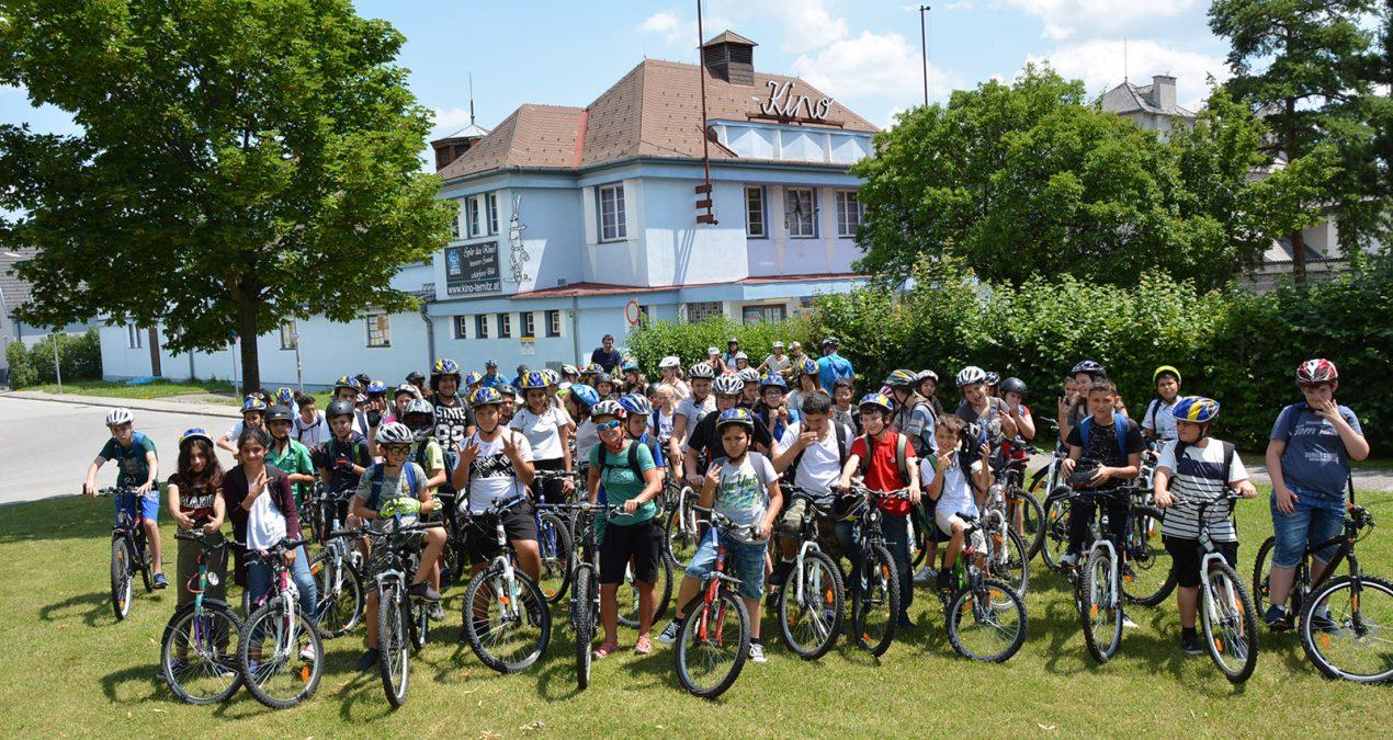 Mit dem Fahrrad zu den Klimalichtspielen