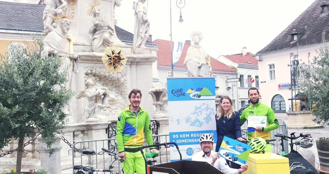 Für den Klimaschutz mit dem Lastenrad durch ganz Österreich