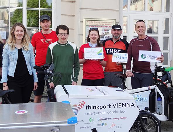 Mit E-Lastenrädern von Wien aus zum Österreichischen Radgipfel nach Graz