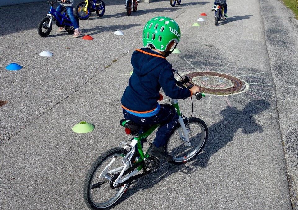 Klimabündnis-Radworkshop für Kindergarten Ternitz-Dunkelstein