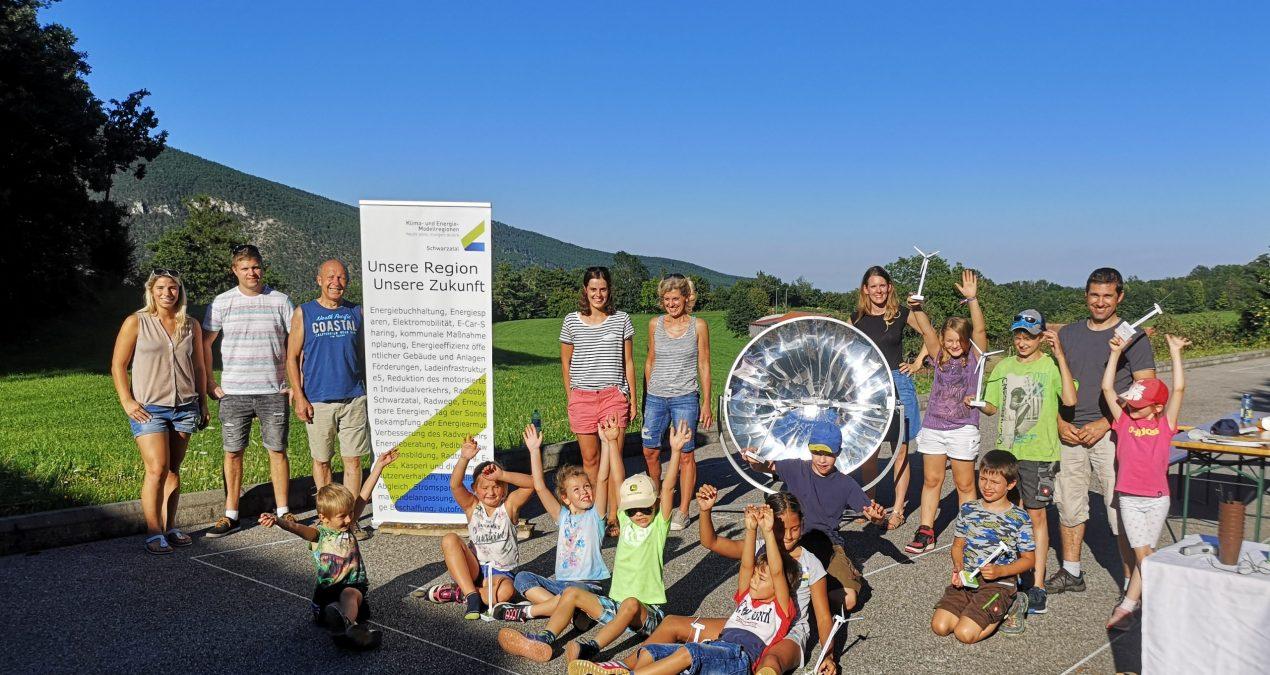 Voller (erneuerbarer) Energie durch die Ferien