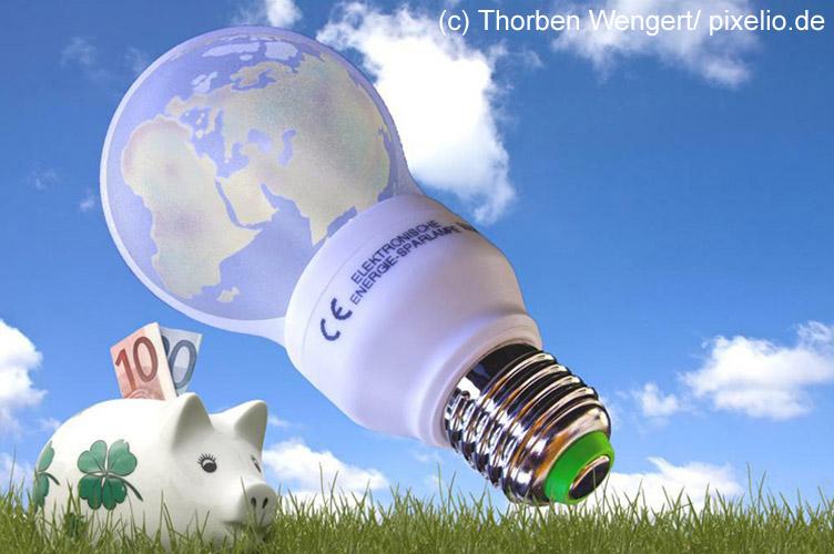 Energiesparen im Haushalt, Schwerpunkt LED-Leuchtmittel