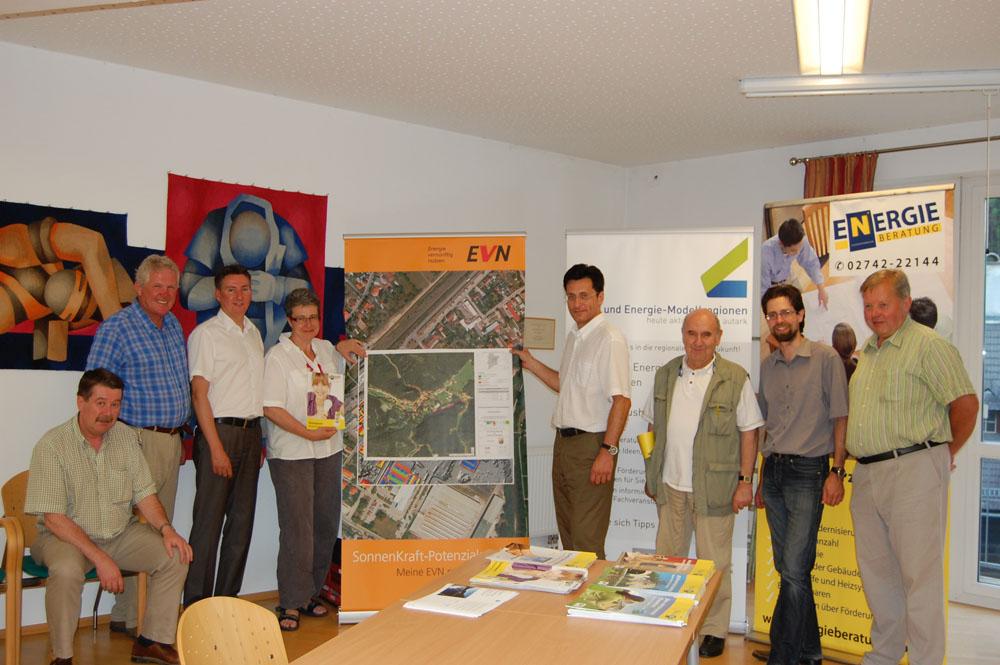 Gutenstein informierte zum Thema Photovoltaik