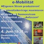 INFO-Abend: Photovoltaik & e-Mobilität