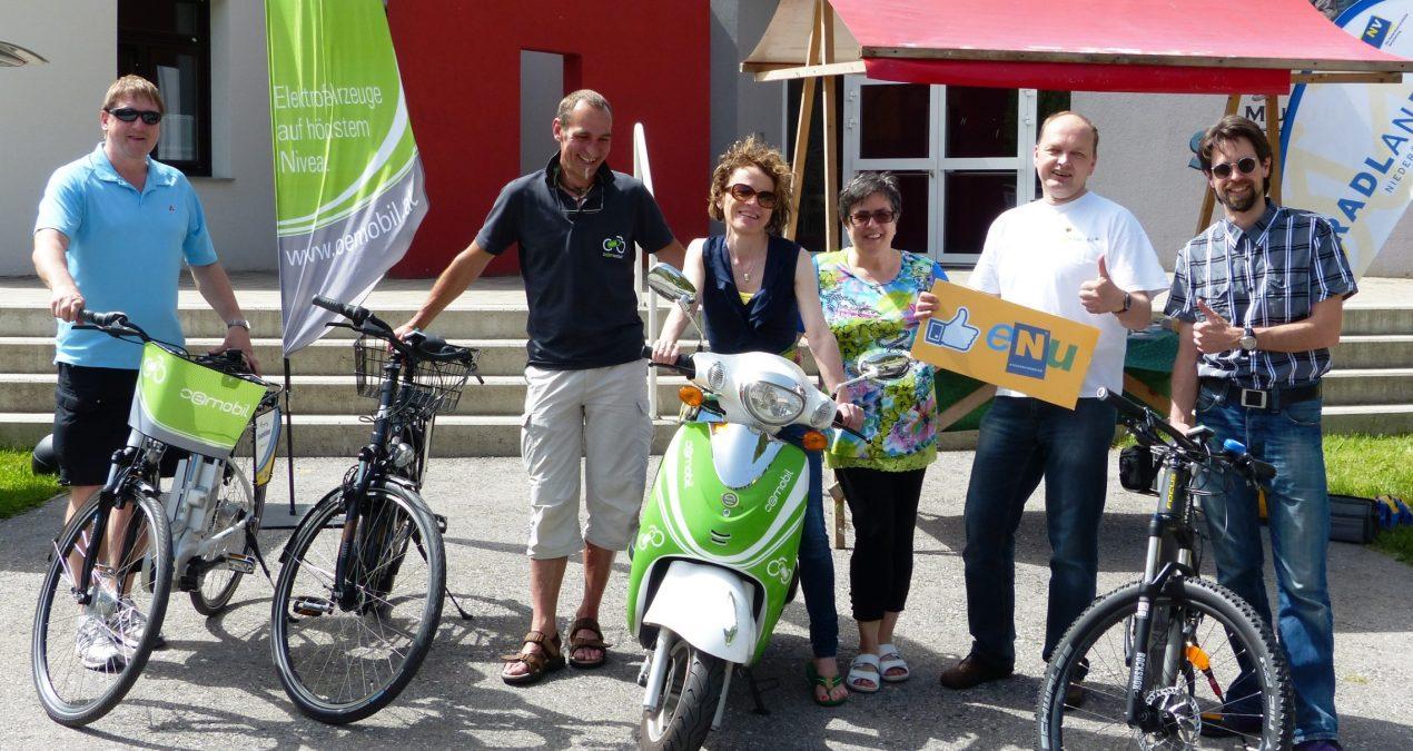 E-Mobilität hautnah erleben in Schottwien