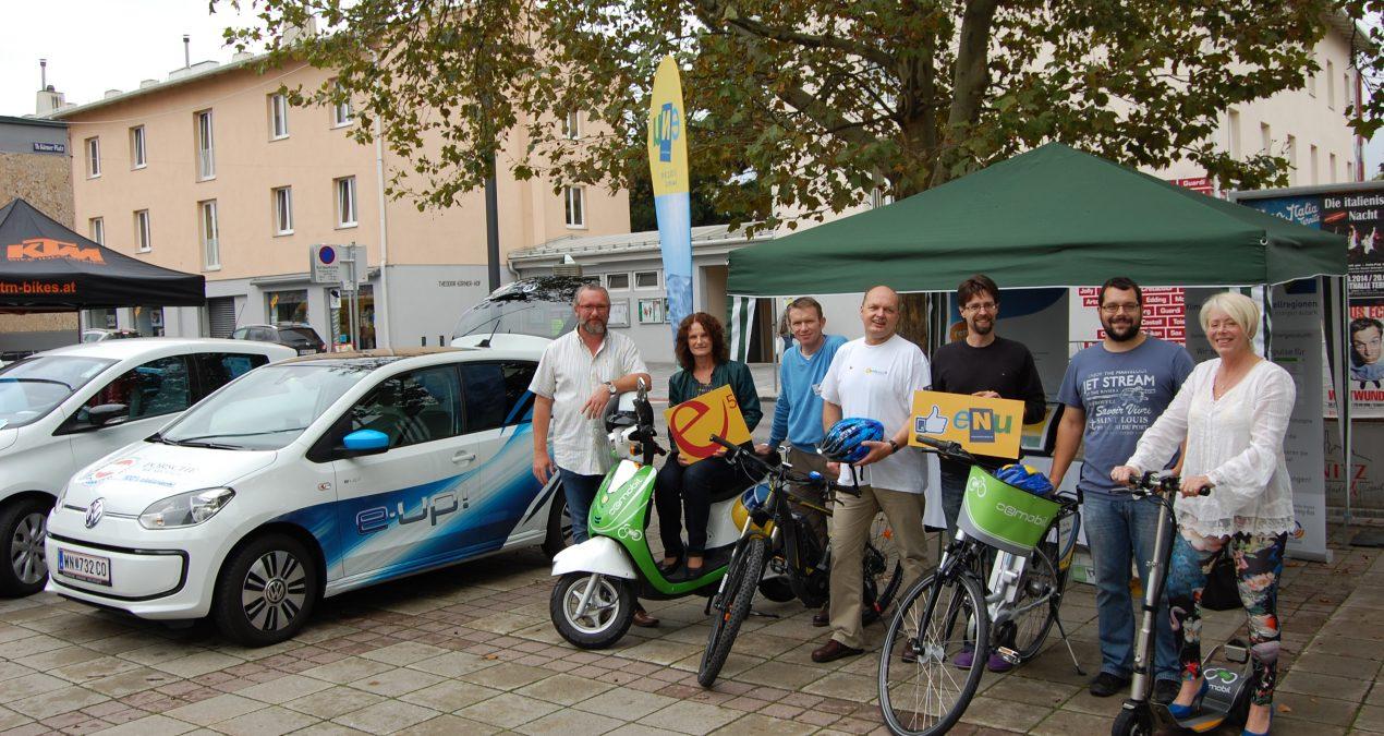 e-mobile Testaktion in Ternitz