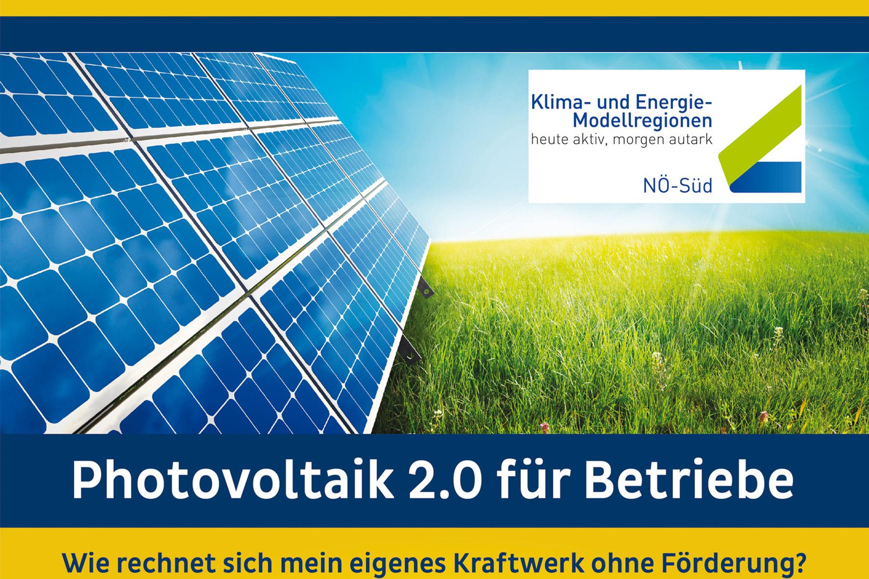 Photovoltaik 2.0 für Betriebe