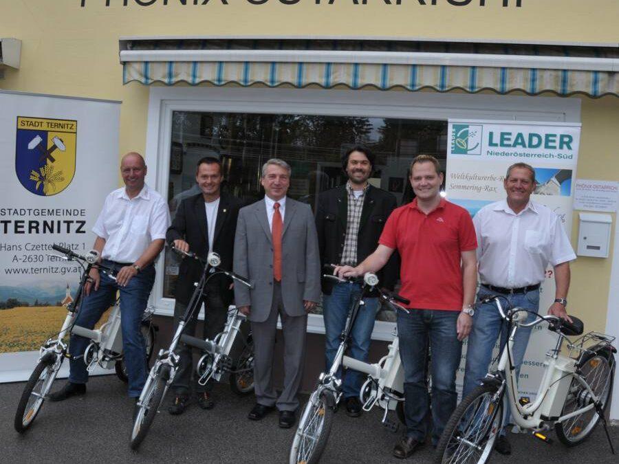 E-bikes in Ternitz gefördert