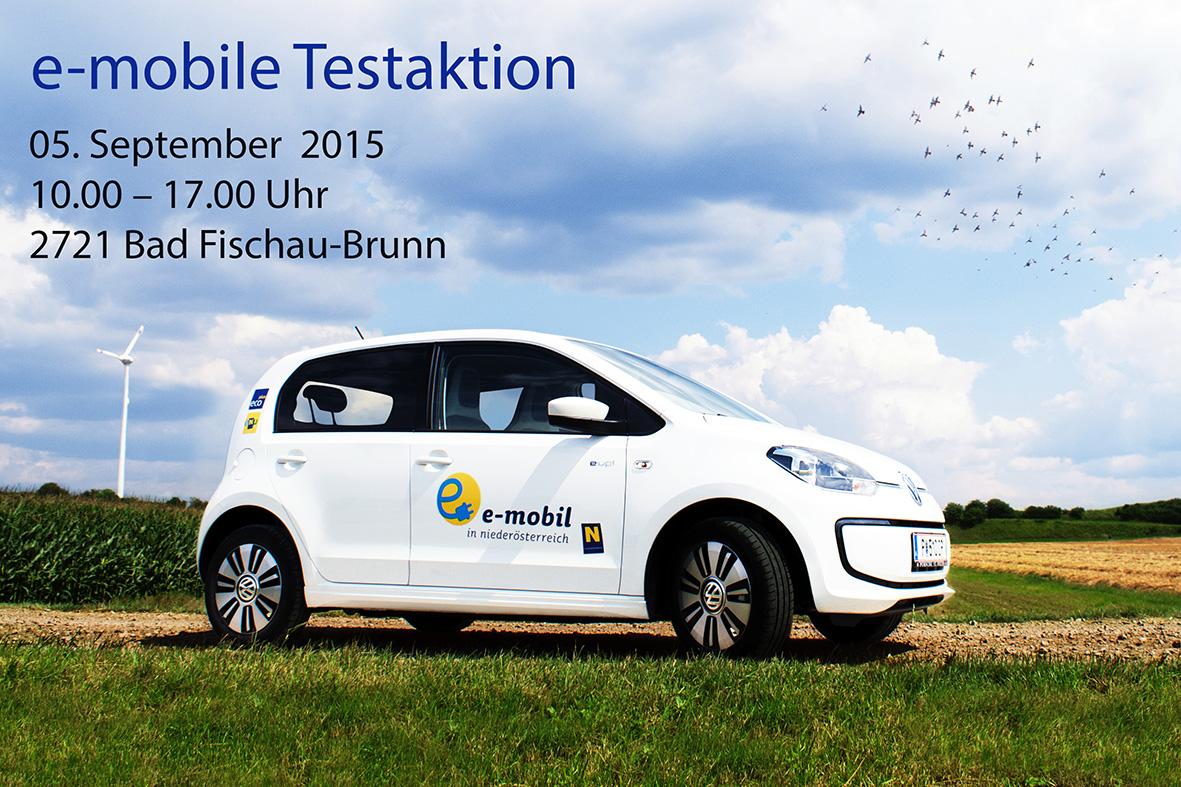 e-mobile Testaktion, Bad Fischau-Brunn