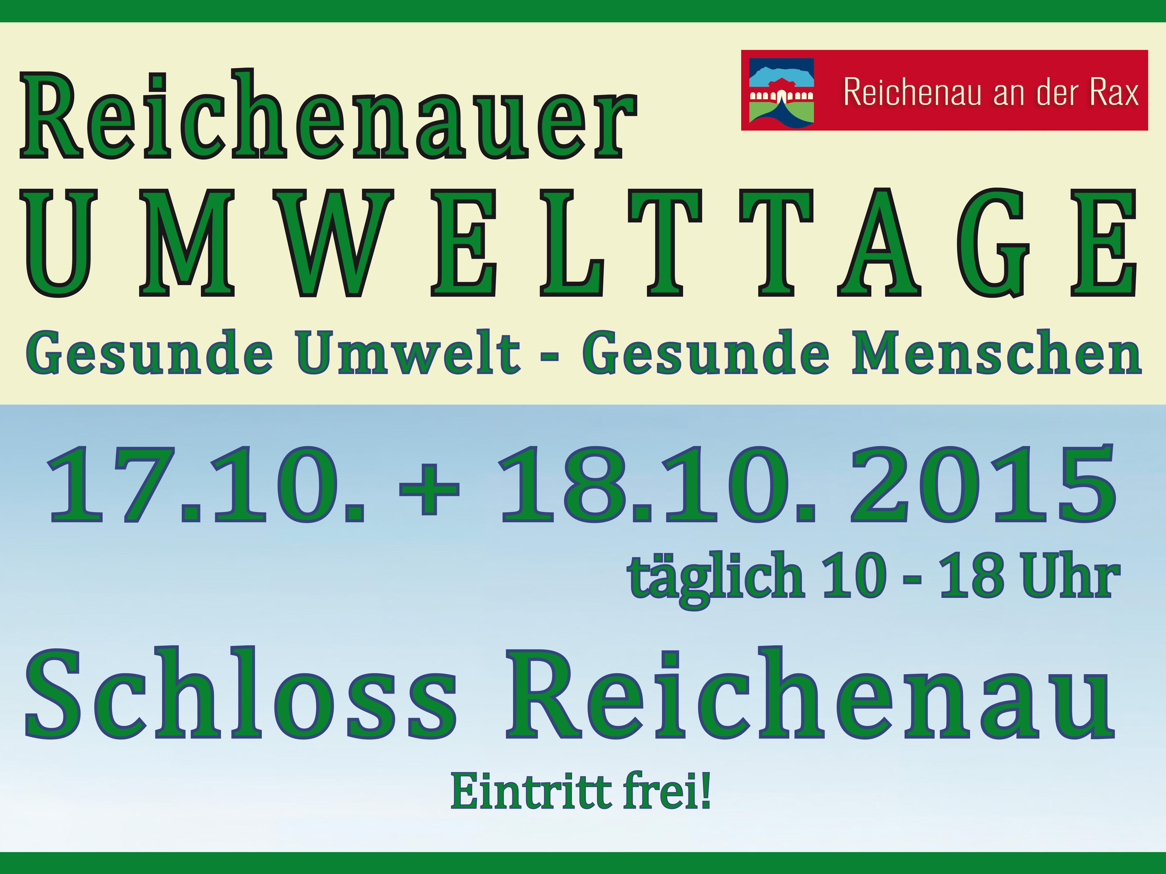 Reichenauer Umwelttage