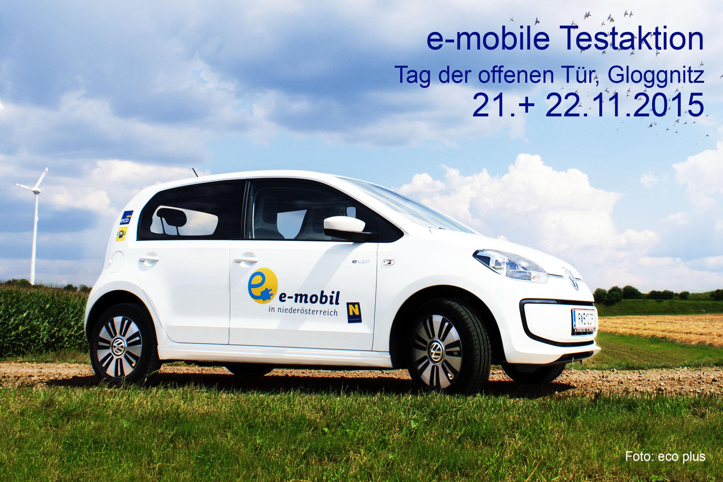 e-mobile Testaktion, Gloggnitz