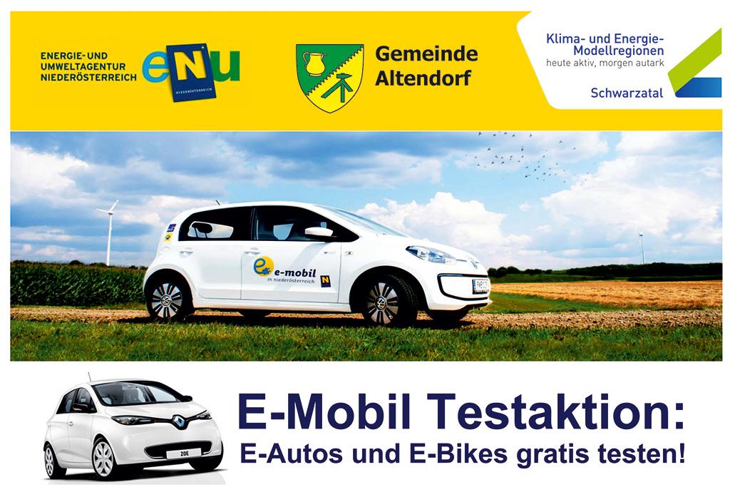 E-Mobil Testaktion, Altendorf