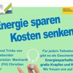 Energie sparen, Kosten senken