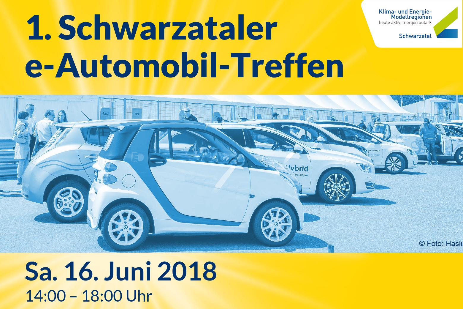 1. Schwarzataler e-Automobil-Treffen