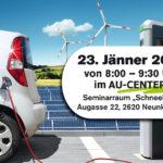 Unternehmerfrühstück: Elektromobilität für Betriebe
