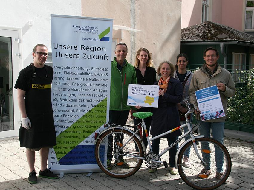 Radlreparaturtag in Neunkirchen
