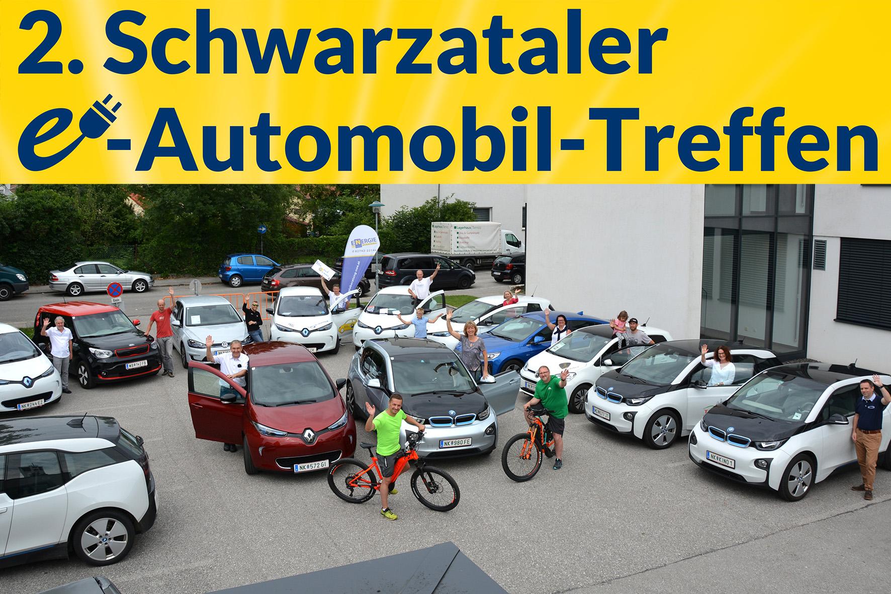 2. Schwarzataler e-Auto-Treffen