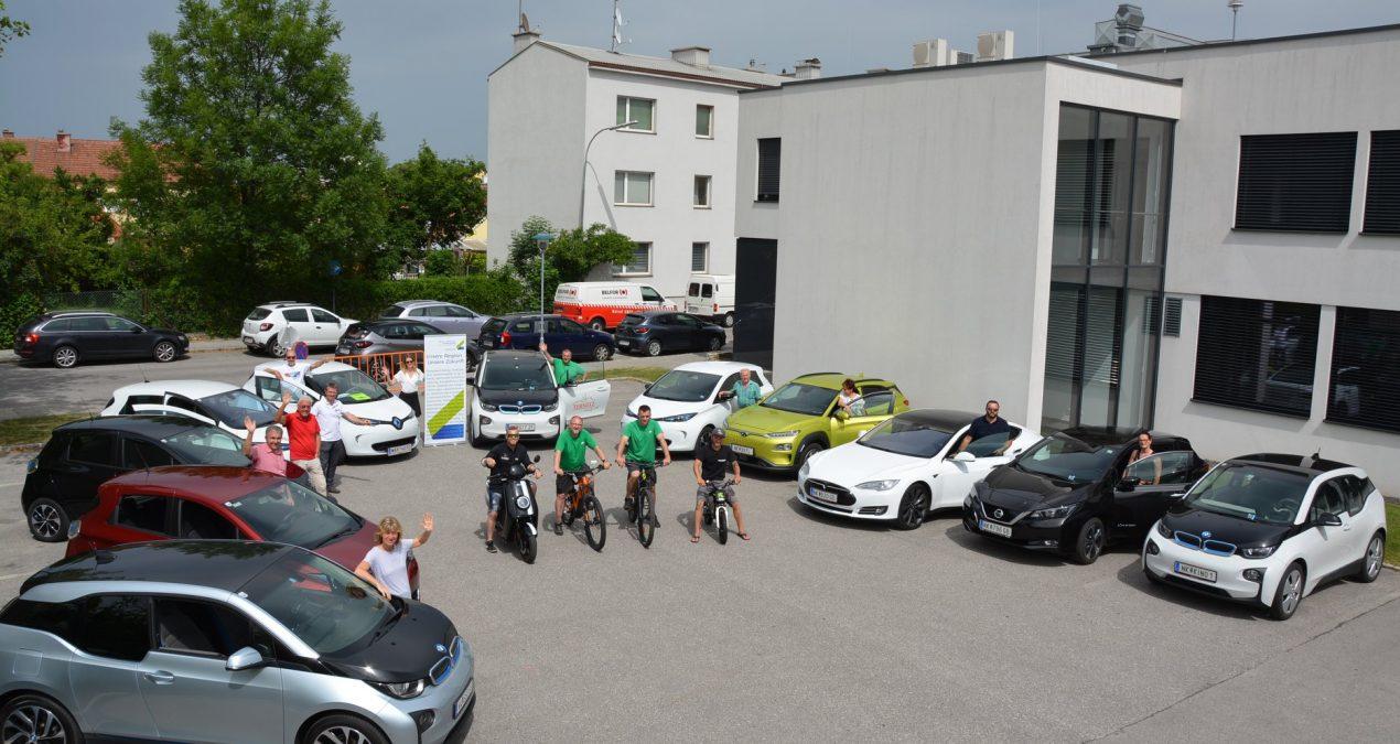 2. Schwarzataler E-Auto Treffen beim Stadtplatzfest Ternitz