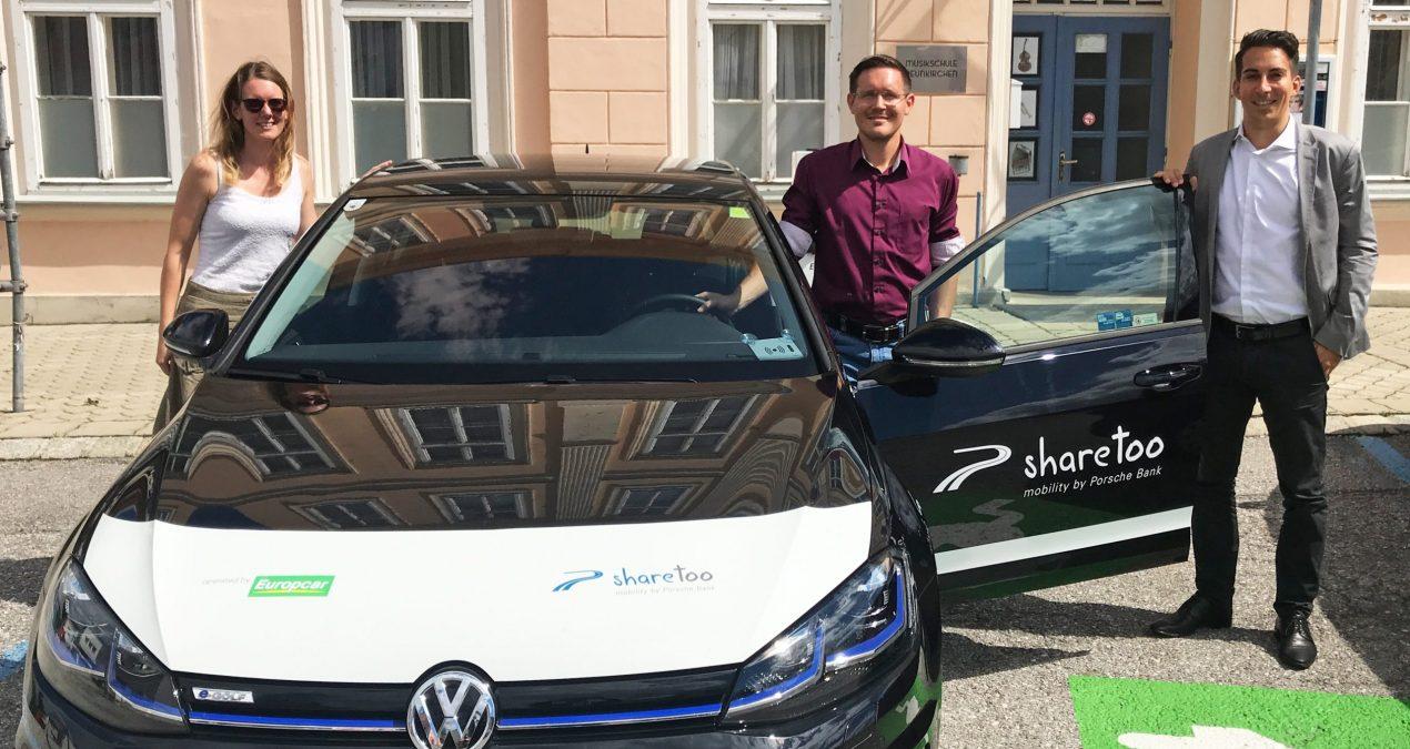 E-Carsharing in Neunkirchen feiert 2-jähriges Jubiläum
