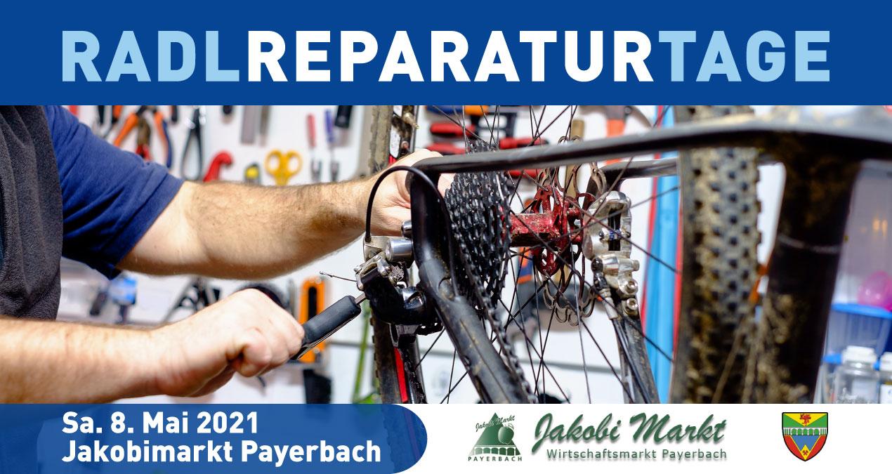 Radlreparaturtag Jakobimarkt Payerbach